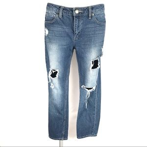 🐻Life in Progress High Rise Distress Jeans